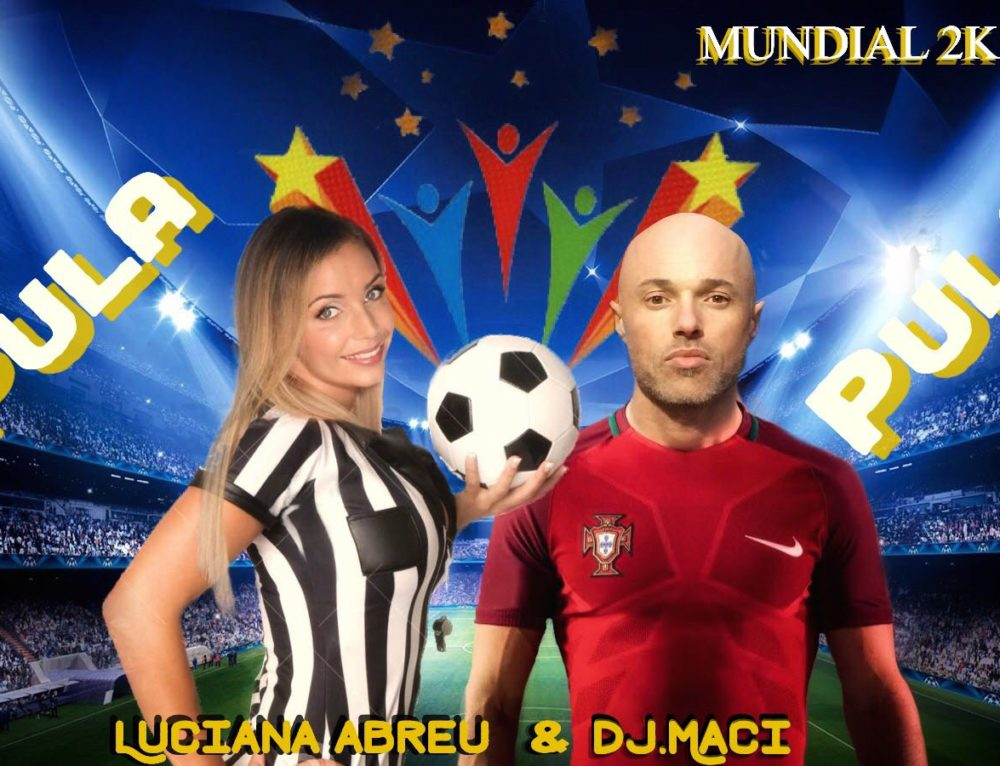 Waiting for Russian worldcup 2K18 Luciana abreu e dj maci produce the hymn.